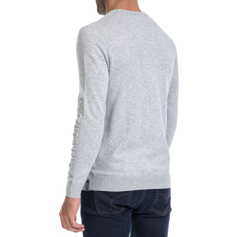 CALVIN KLEIN JEANS-Ανδρική μπλούζα SALVON CN γκρι