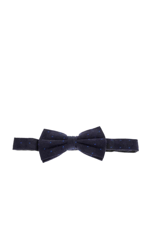SCOTCH & SODA - Παπιγιόν Scotch & Soda σκούρο μπλε πουά ανδρικά αξεσουάρ γραβάτες παπιγιόν