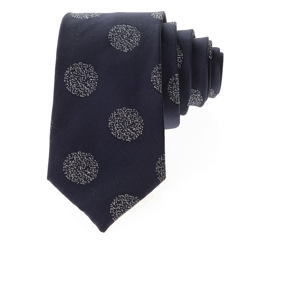 SCOTCH & SODA - Ανδρική γραβάτα SCOTCH & SODA μπλε