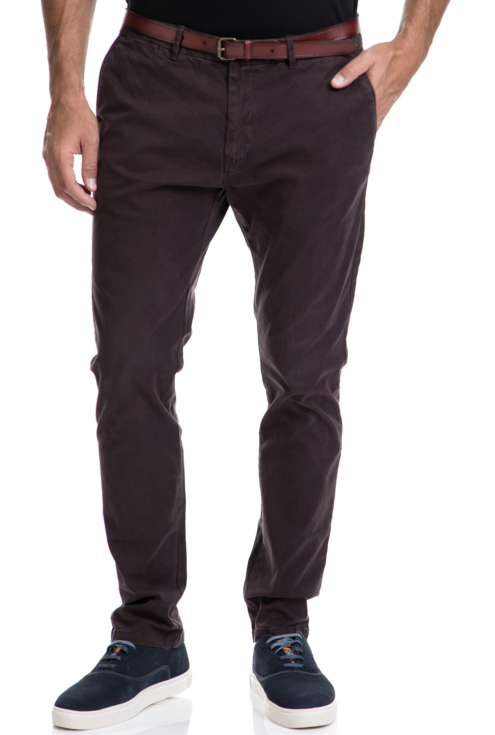 SCOTCH & SODA – Αντρικό παντελόνι Classic SCOTCH & SODA μοβ