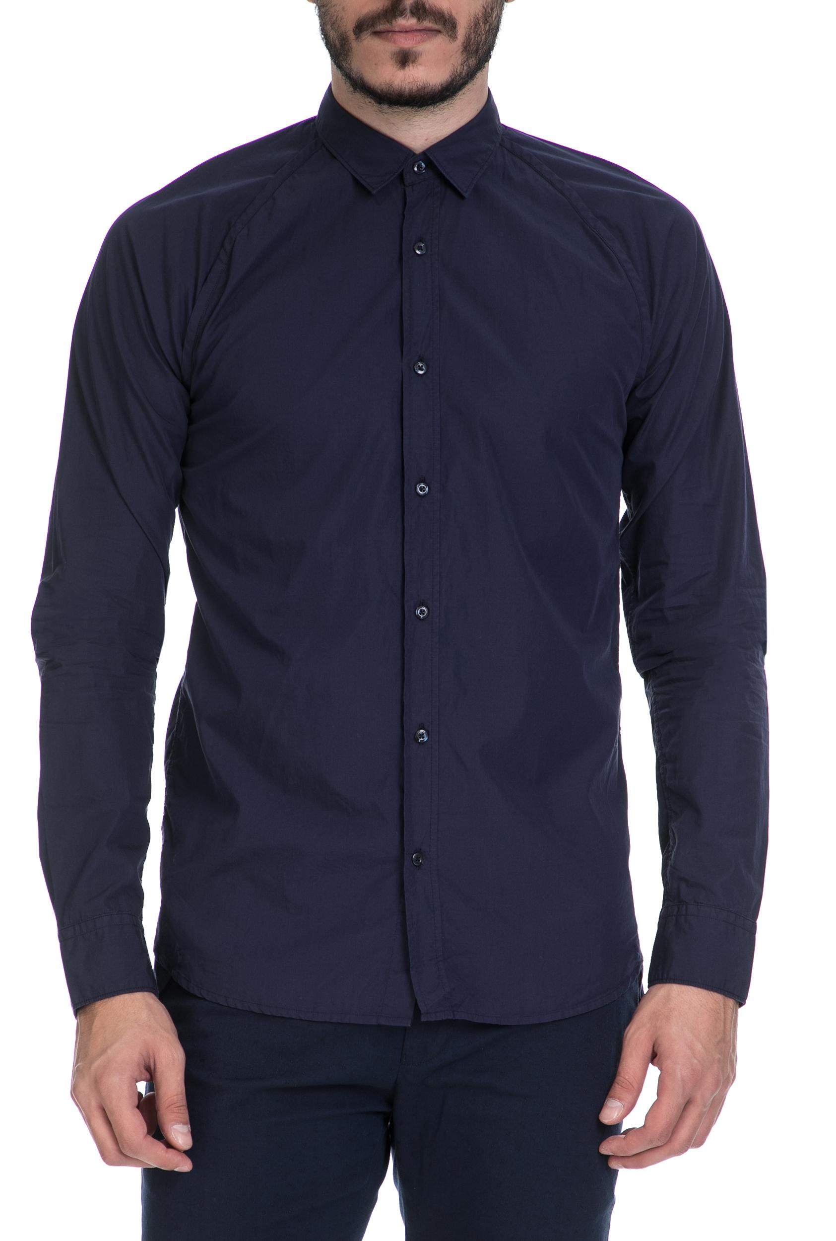 ecf4bff33846 SCOTCH   SODA – Ανδρικό πουκάμισο SCOTCH   SODA μπλε 1566519.0-001B 51