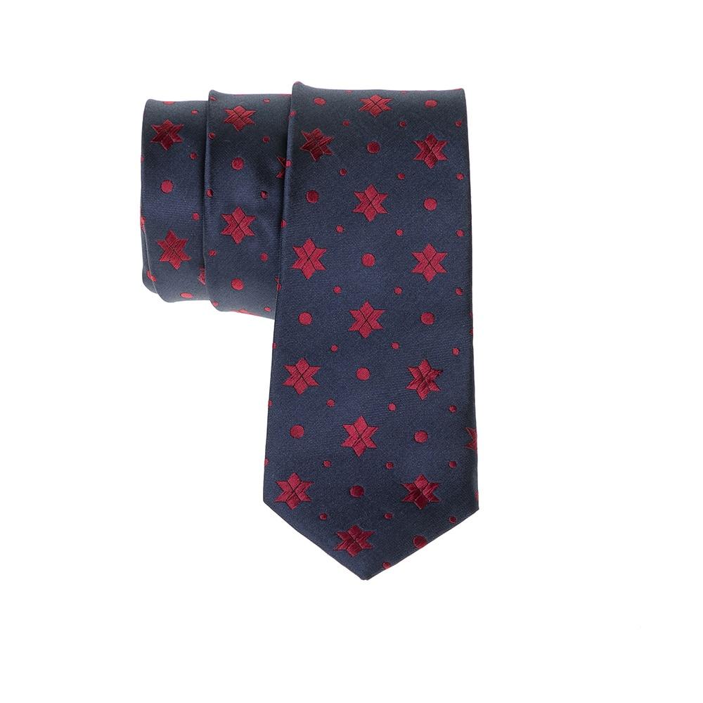 SCOTCH & SODA - Ανδρική γραβάτα SCOTCH & SODA μπλε-κόκκινη ανδρικά αξεσουάρ γραβάτες παπιγιόν