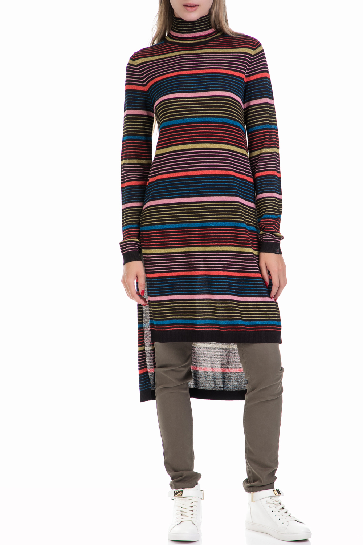 SCOTCH & SODA - Γυναικείο φόρεμα MAISON SCOTCH ριγέ γυναικεία ρούχα φορέματα μέχρι το γόνατο