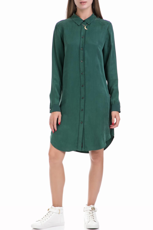 SCOTCH & SODA - Γυναικείο φόρεμα MAISON SCOTCH πράσινο γυναικεία ρούχα φορέματα μίνι