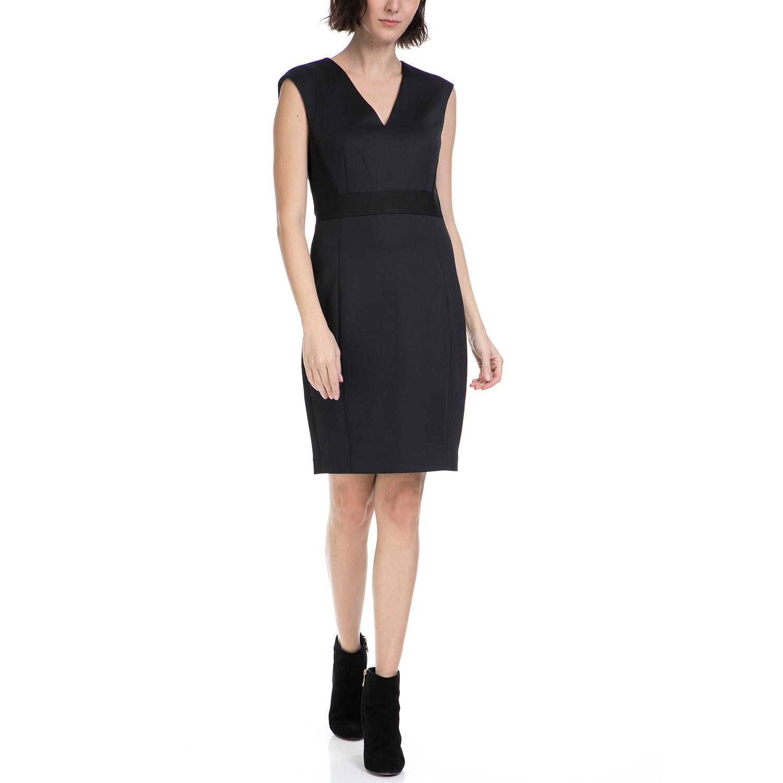 TED BAKER - Γυναικείο φόρεμα GRESAD TED BAKER μαύρο γυναικεία ρούχα φορέματα μίνι