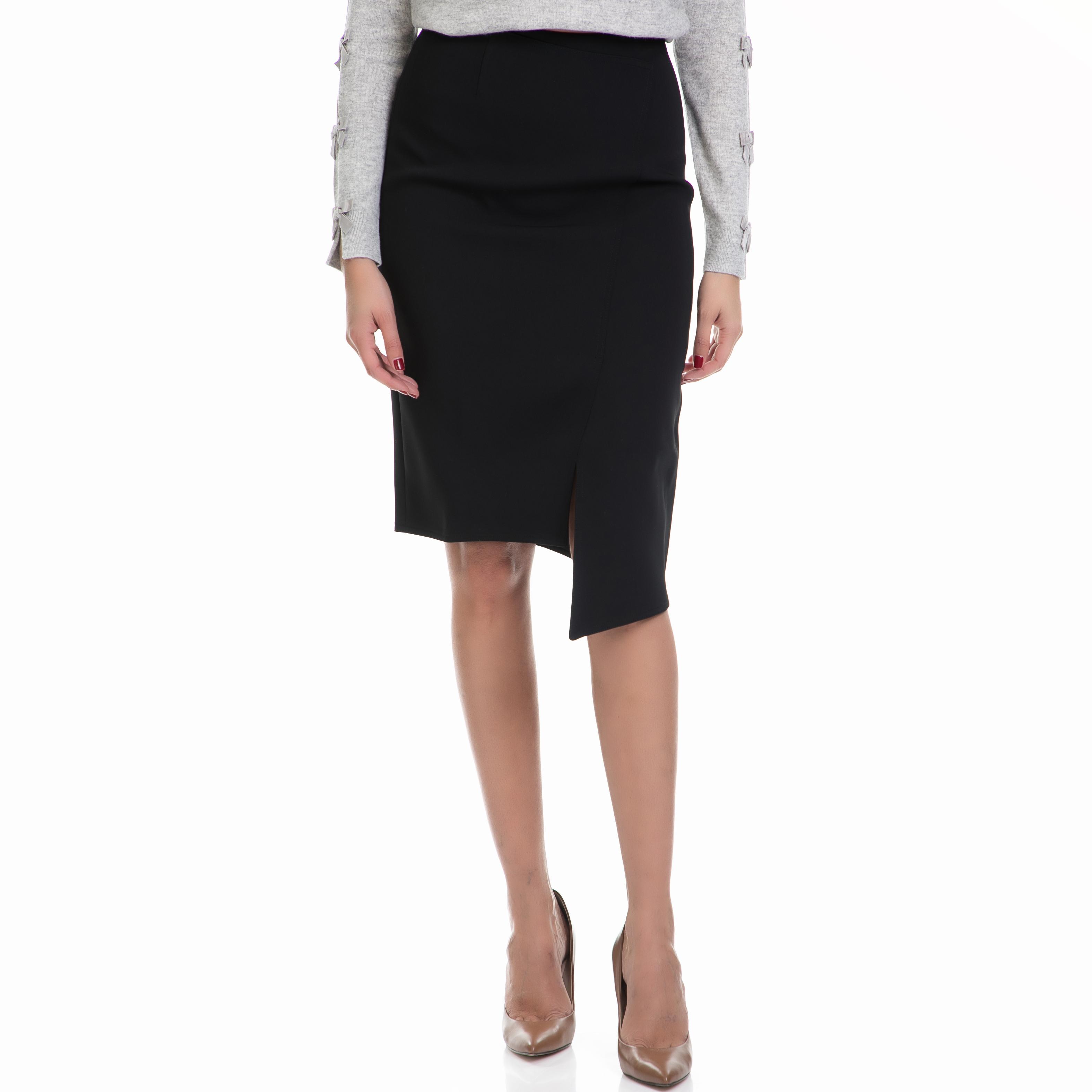 TED BAKER - Γυναικεία φούστα NIMMO TED BAKER μαύρη γυναικεία ρούχα φούστες μέχρι το γόνατο