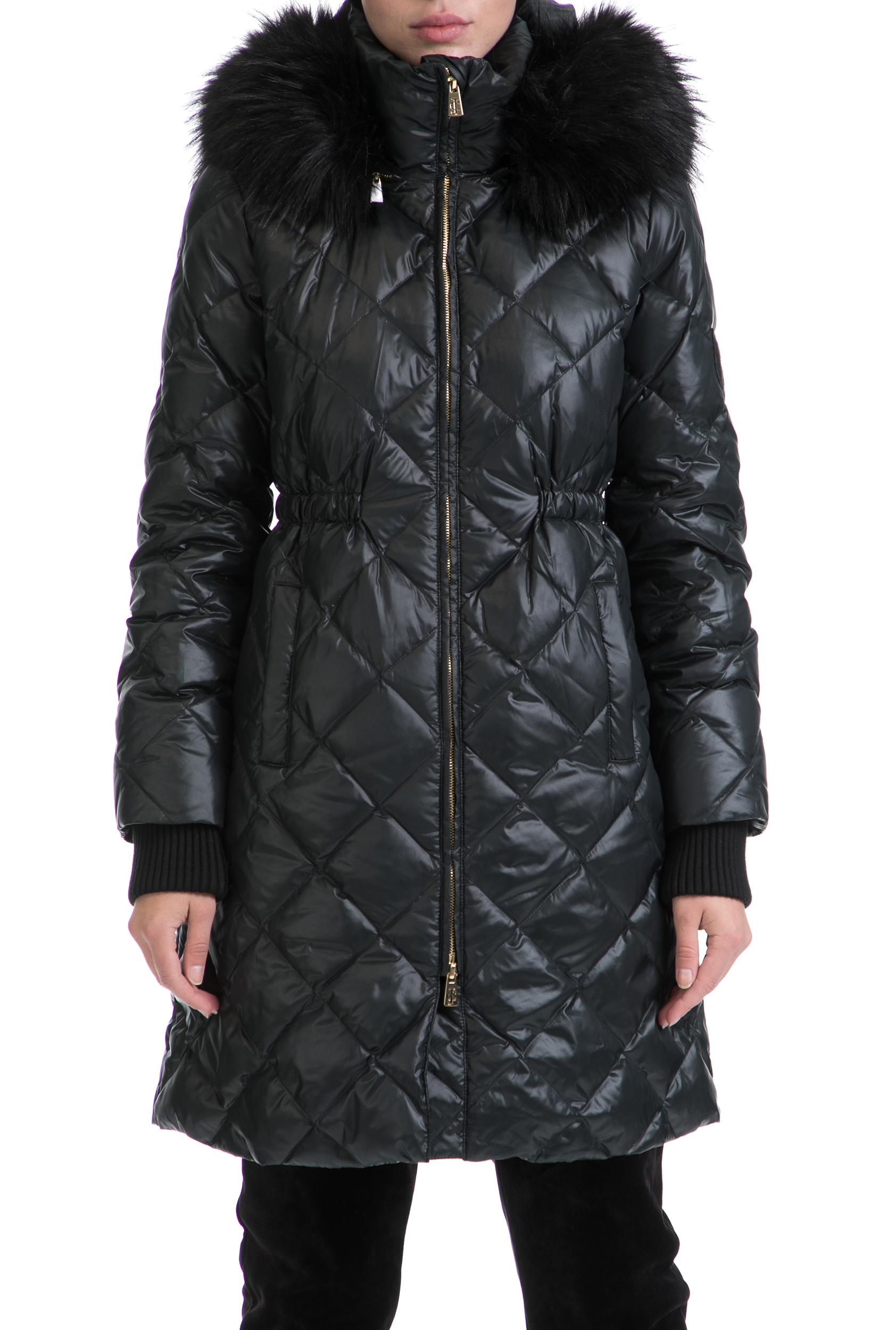 JUICY COUTURE - Γυναικείο μπουφάν JUICY COUTURE μαύρο γυναικεία ρούχα πανωφόρια μπουφάν