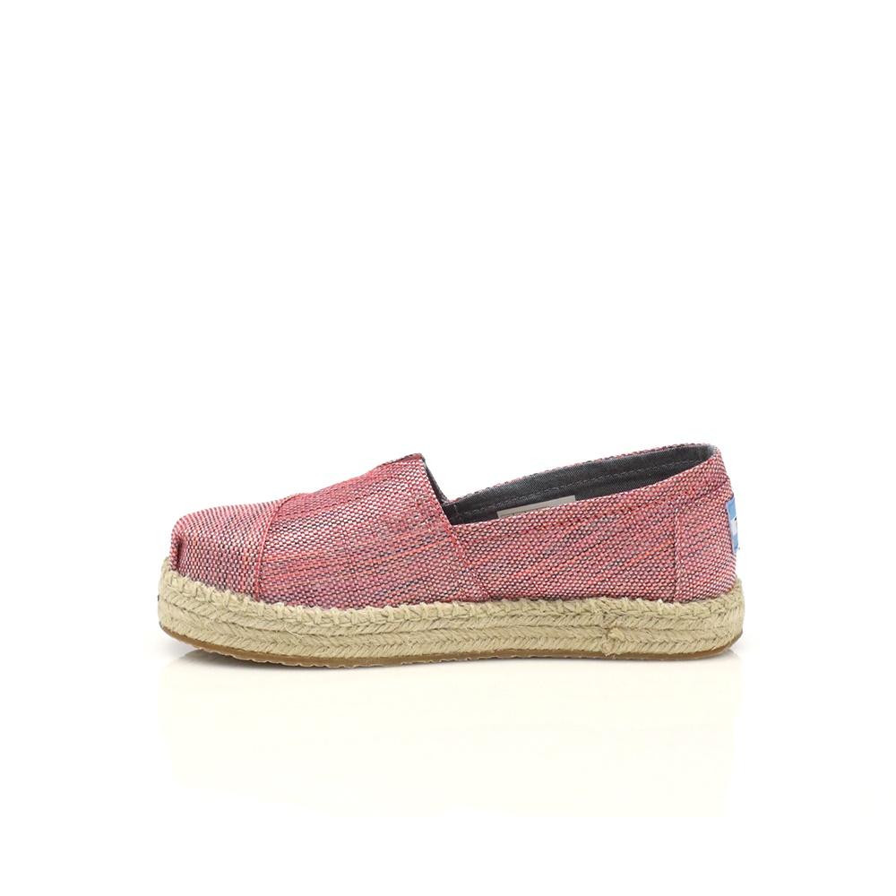 TOMS - Παιδικές εσπαντρίγιες TOMS ροζ παιδικά girls παπούτσια εσπαντρίγιες slip on
