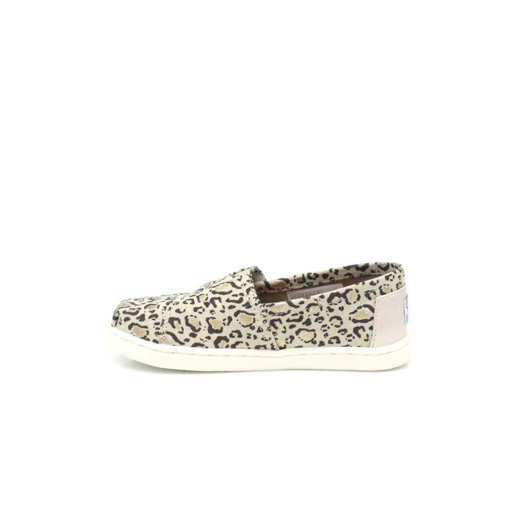 TOMS - Παιδικά slip-on παπούτσια TOMS μπεζ παιδικά girls παπούτσια εσπαντρίγιες slip on