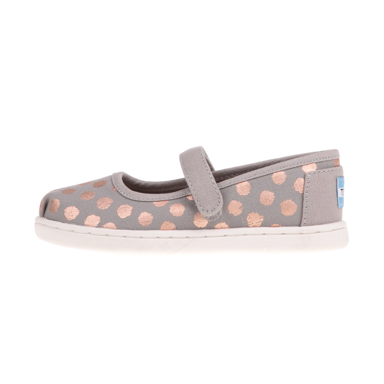 40fb84f65e8 TOMS – Παιδικά παπούτσια TOMS ροζ; TOMS – Παιδικές μπαλαρίνες TOMS GOLD  FOIL πουά