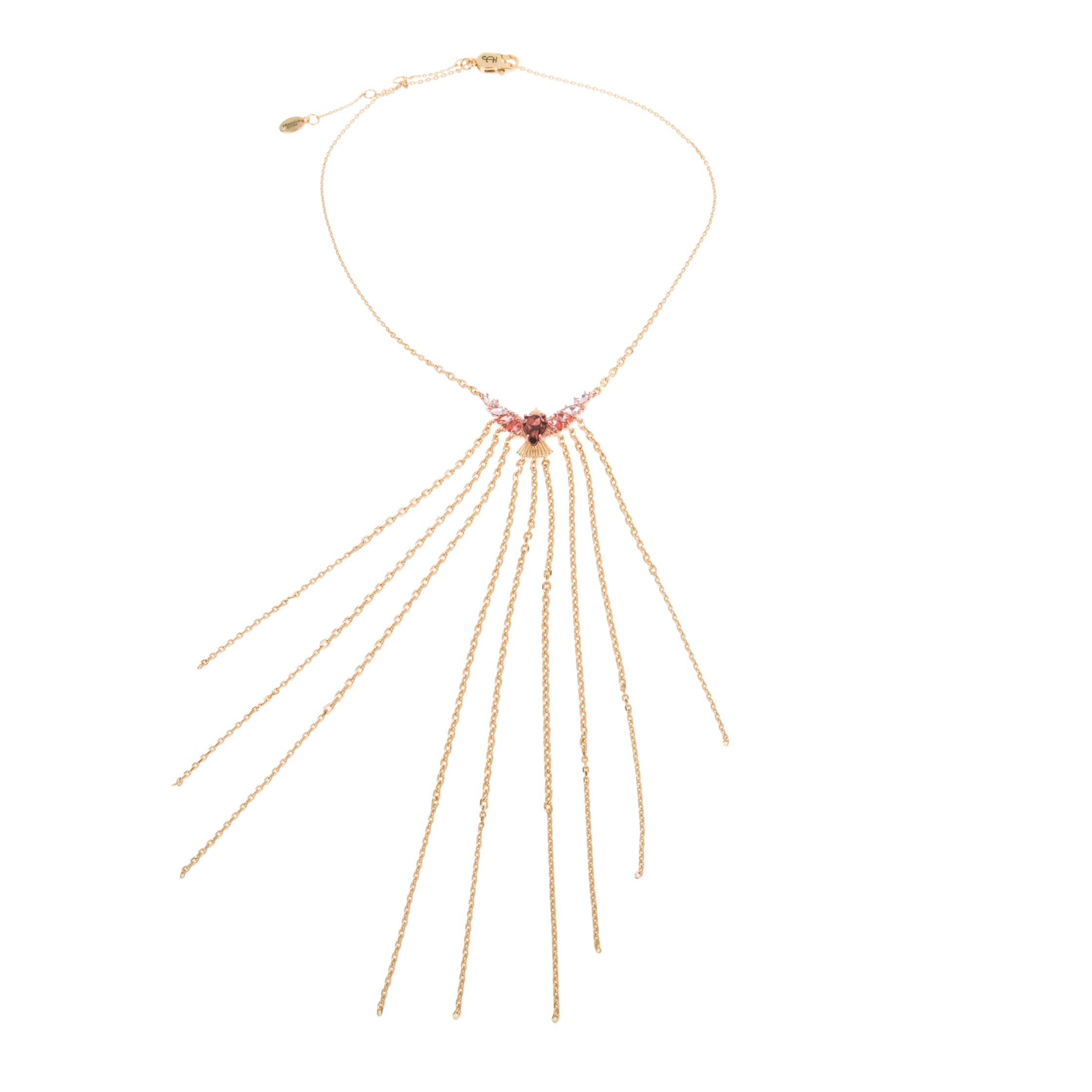 JUICY COUTURE - Κολιέ Juicy Couture FRINGE FORWARD STATEMENT χρυσό