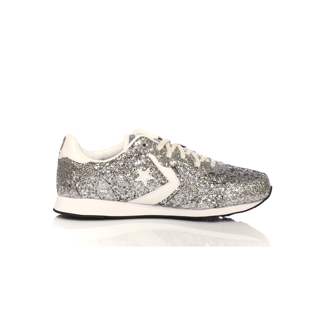 4c18d16842a Factoryoutlet CONVERSE – Γυναικεία sneakers CONVERSE Auckland Racer ασημί