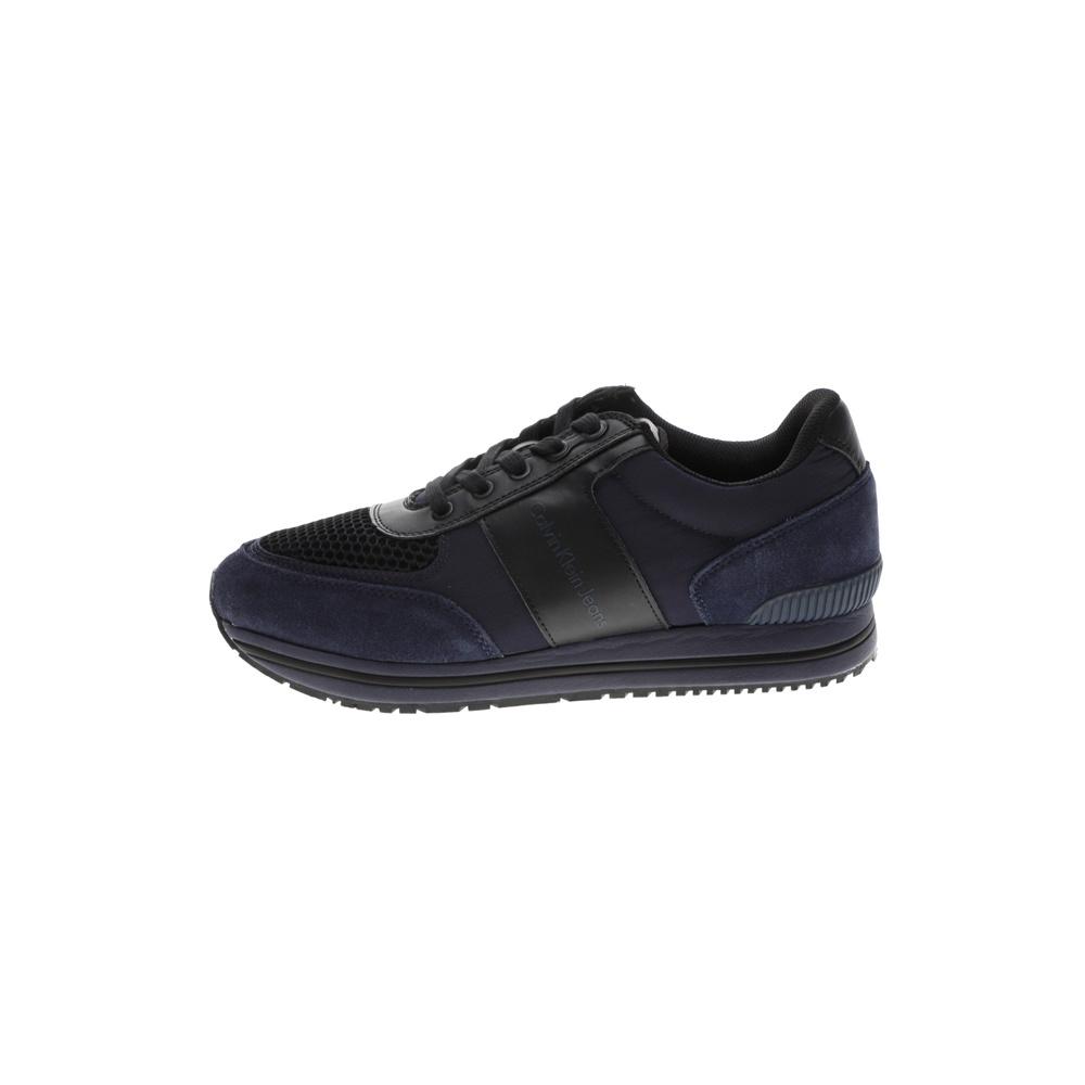CALVIN KLEIN JEANS – Ανδρικά sneakers CALVIN KLEIN JEANS ESTEZ μπλε μαύρα