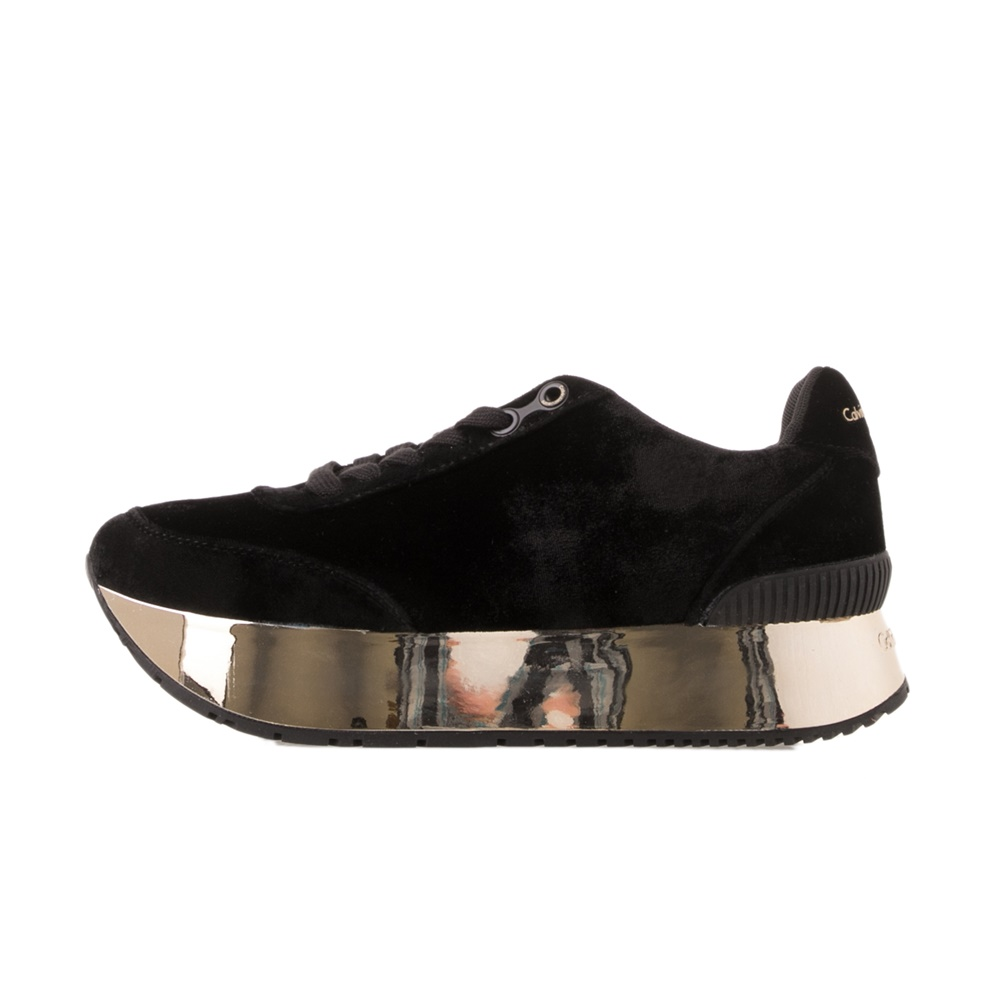CALVIN KLEIN JEANS – Γυναικεία sneakers CALVIN KLEIN JEANS CATE μαύρα