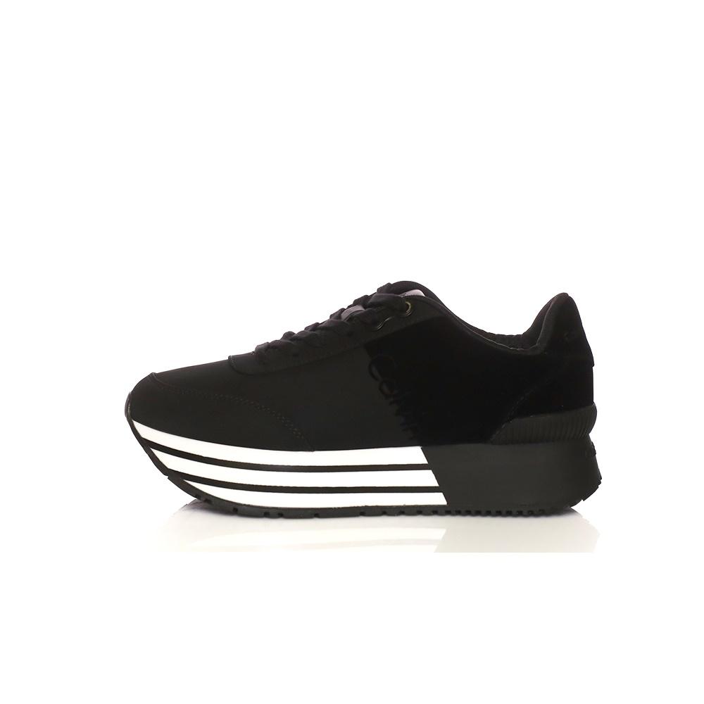 CALVIN KLEIN JEANS – Γυναικεία sneakers CARLITA μαύρα