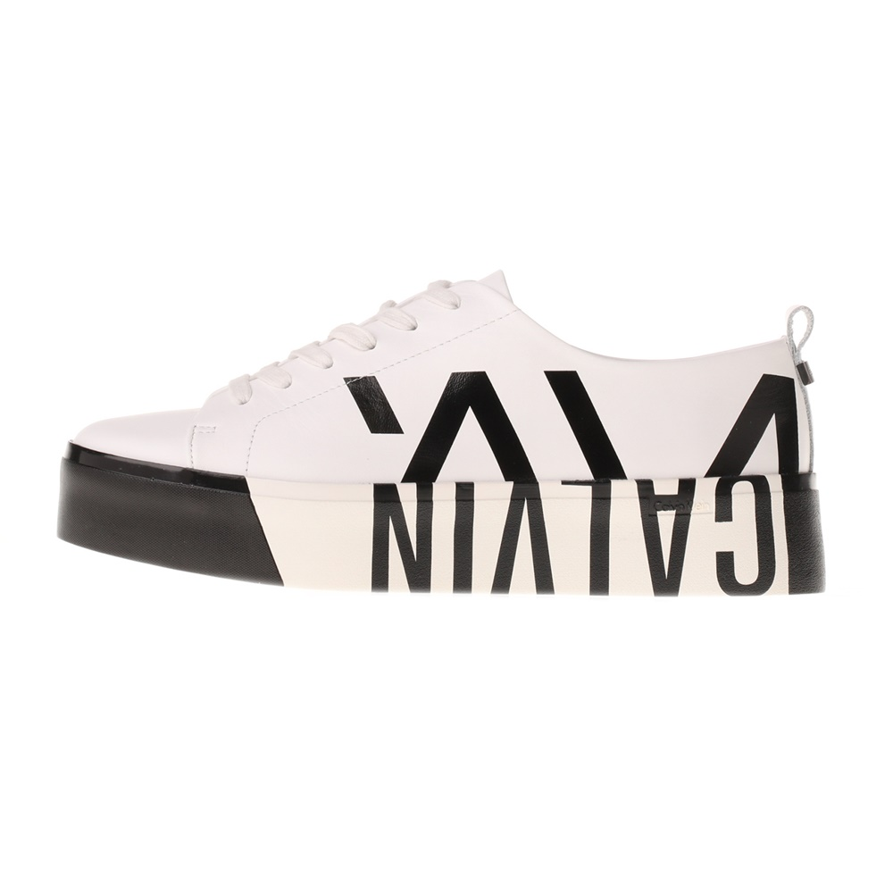 CALVIN KLEIN JEANS – Γυναικεία sneakers CALVIN KLEIN JEANS JAYDA μαύρο λευκό