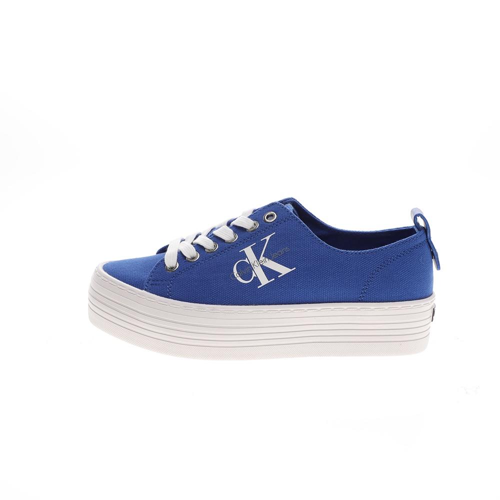 CALVIN KLEIN JEANS – Γυναικεία sneakers CALVIN KLEIN JEANS ZOLAH μπλε