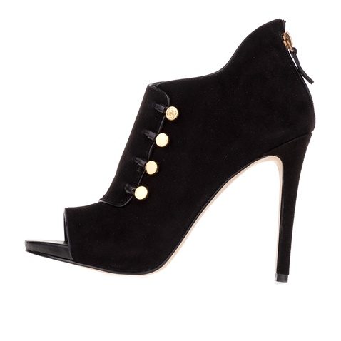 88ed301a653 Γυναικεία μποτάκια peep toe GUESS ABY SHOOTIE μαύρα (1569893.0-0071)    Factory Outlet