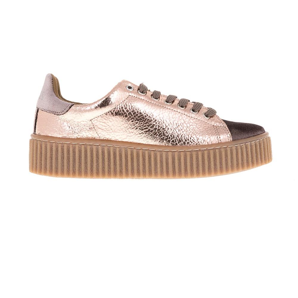 GUESS – Γυναικεία sneakers Guess ροζ μεταλλικό