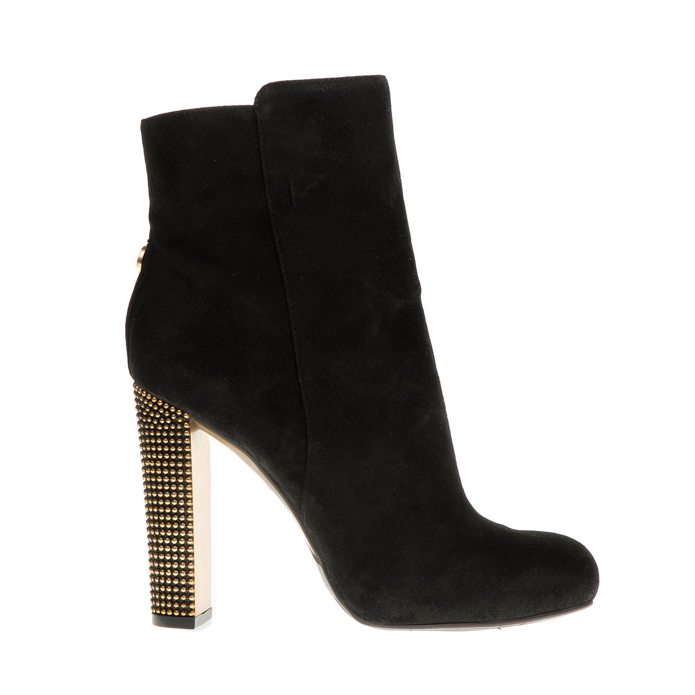GUESS - Μποτάκια GUESS DODIE μαύρα γυναικεία παπούτσια μπότες μποτάκια μποτάκια