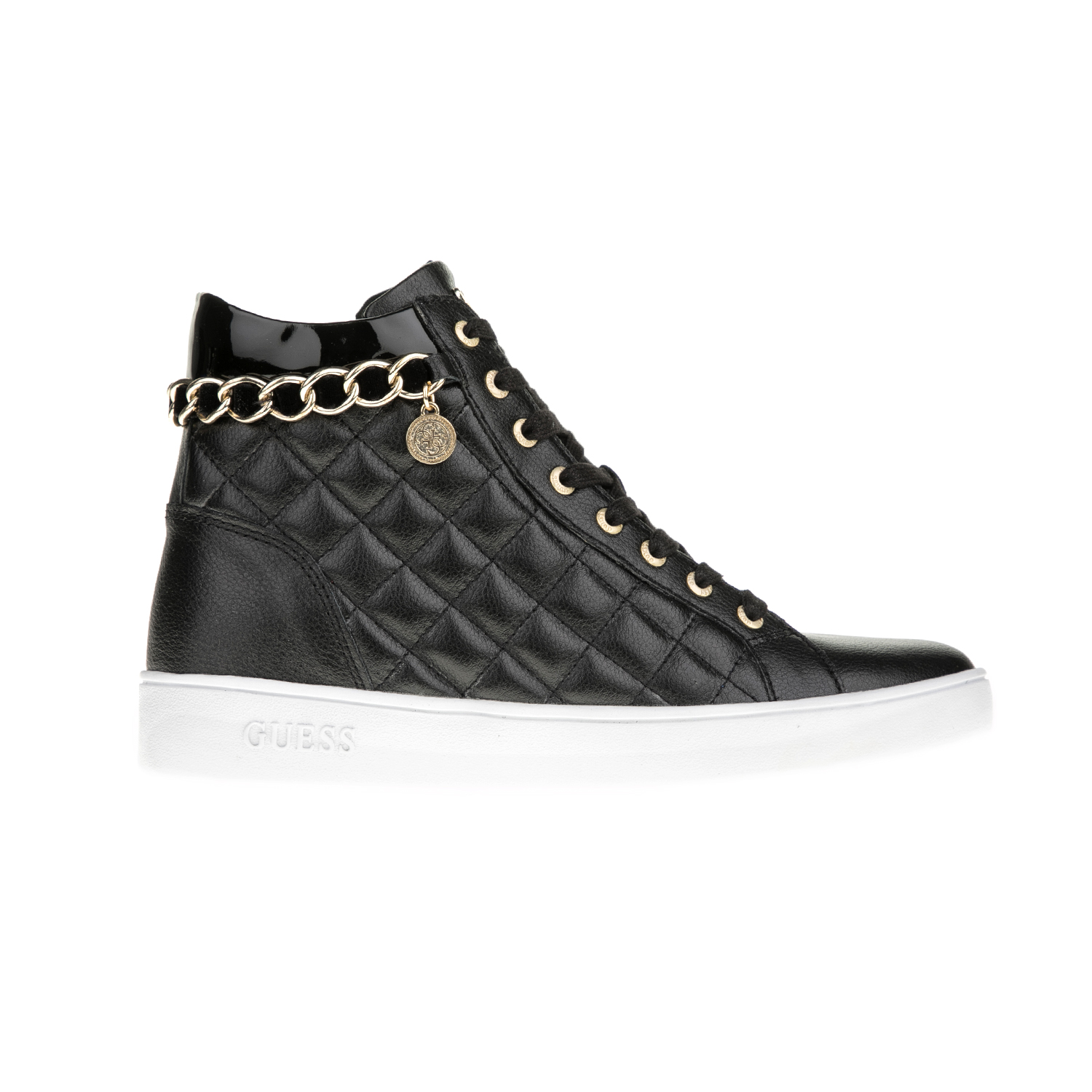 GUESS – Γυναικεία sneakers GUESS GERTA μαύρα