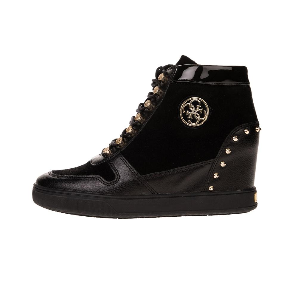 GUESS – Γυναικεία sneakers GUESS FALAN μαύρα