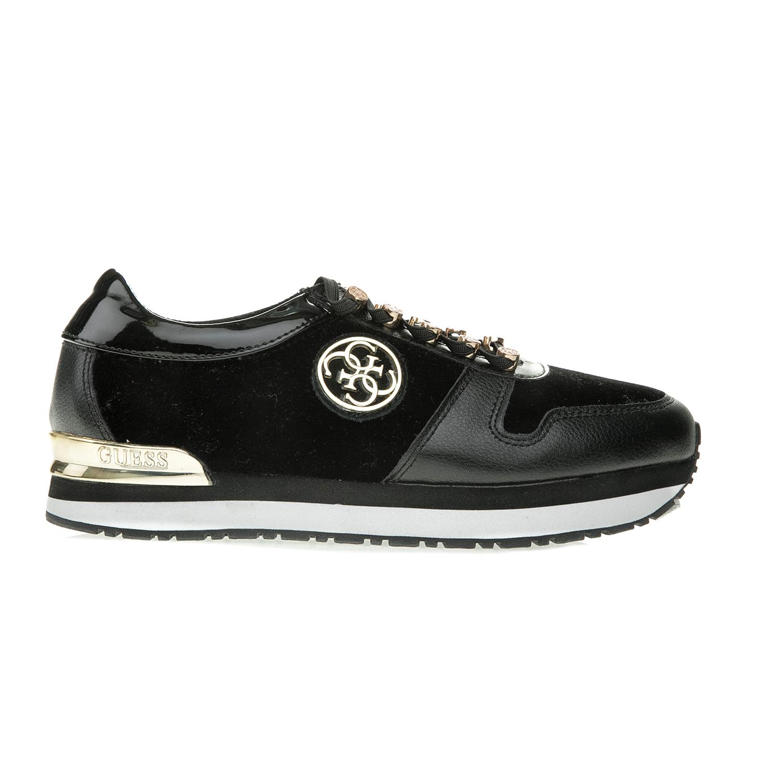 GUESS – Γυναικεία sneakers ROMAN μαύρα