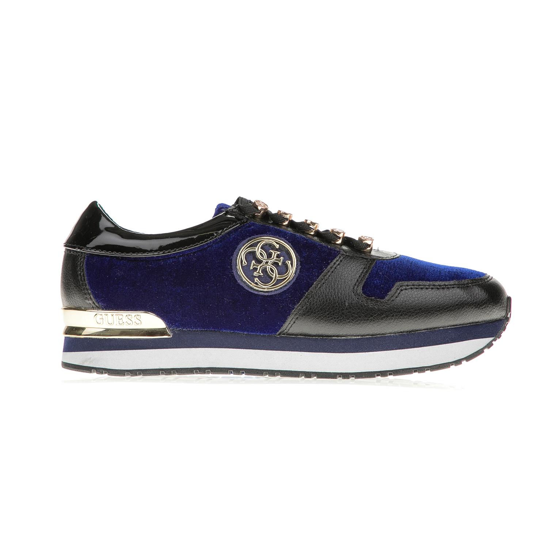 GUESS – Γυναικεία sneakers GUESS ROMAN μπλε