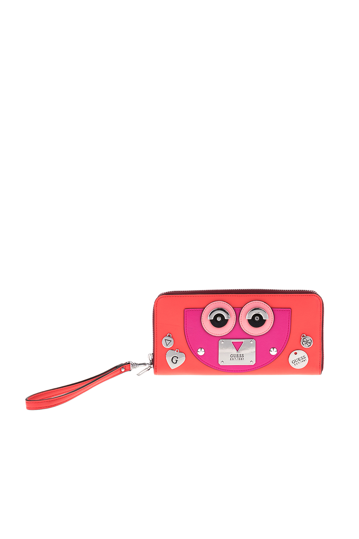 GUESS - Γυναικείο πορτοφόλι CYBER ROCK GUESS κόκκινο