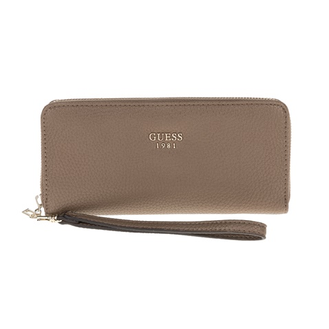 51750ad036 Γυναικείο πορτοφόλι Guess SHAILENE LARGE ZIP AROUND μπεζ (1571682.0-00m7)