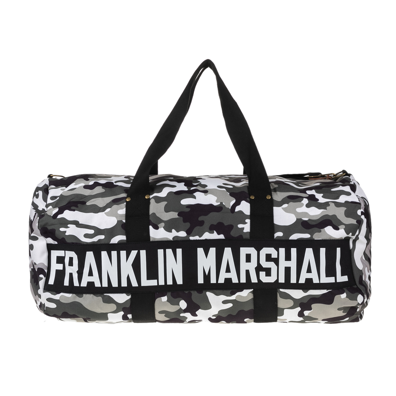 FRANKLIN   MARSHALL – Unisex σακίδιο FRANKLIN   MARSHALL μαύρο-γκρι 667c16f19eb