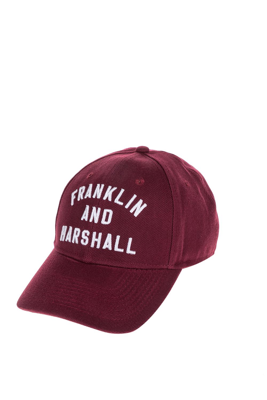 FRANKLIN & MARSHALL - Unisex καπέλο FRANKLIN & MARSHALL κόκκινο γυναικεία αξεσουάρ καπέλα αθλητικά