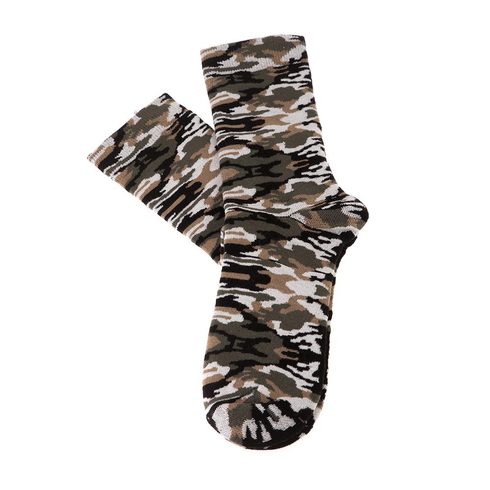 FRANKLIN & MARSHALL - Unisex σετ κάλτσες FRANKLIN & MARSHALL χακί
