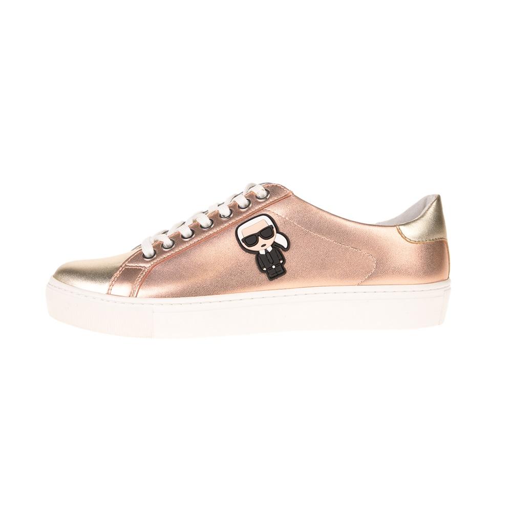 KARL LAGERFELD – Γυναικείο sneaker KARL LAGERFELD KUPSOLE Karl Ikonic ασημί