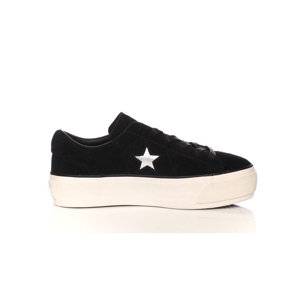 CONVERSE - Γυναικεία sneakers CONVERSE One Star Platform Ox μαύρα ... ef61f1f51ff