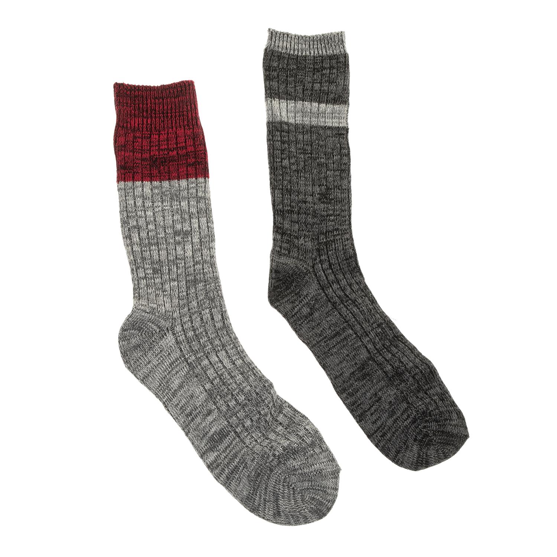 CK UNDERWEAR - Σετ ανδρικές κάλτσες CK UNDERWEAR γκρι ανδρικά αξεσουάρ κάλτσες