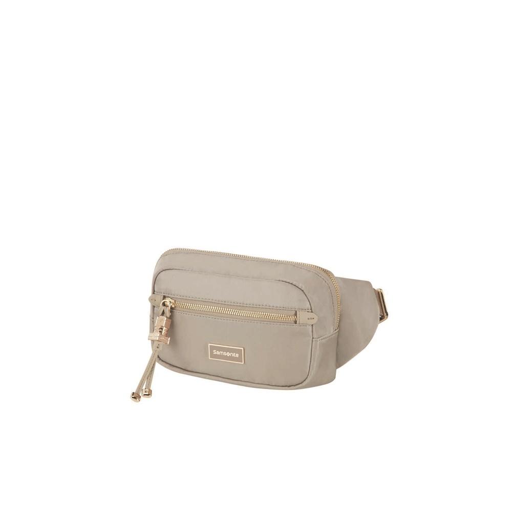 7f81cdc99e SAMSONITE - Γυναικεία τσάντα μέσης KARISSA μπεζ