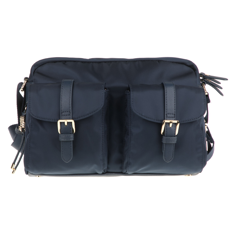SAMSONITE - Γυναικεία τσάντα χιαστί KARISSA SAMSONITE μπλε γυναικεία αξεσουάρ τσάντες σακίδια ταξιδίου