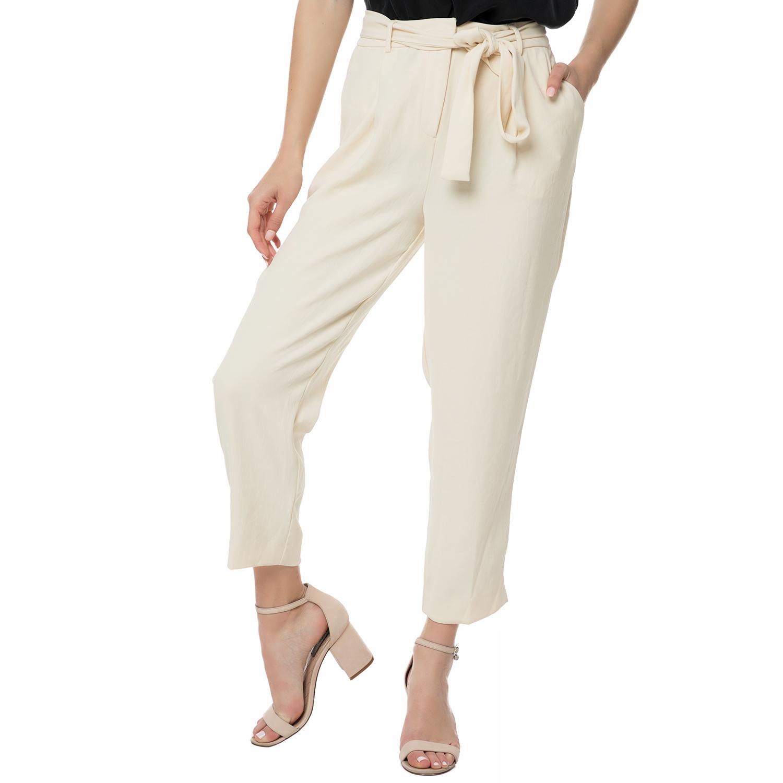 AMERICAN VINTAGE - Γυναικεία παντελόνα ZIC206E16 AMERICAN VINTAGE εκρού