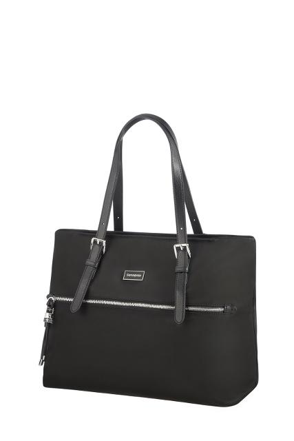 SAMSONITE - Γυναικεία τσάντα ώμου KARISSA SHOPPING BAG μαύρη γυναικεία αξεσουάρ τσάντες σακίδια ωμου
