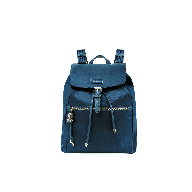 SAMSONITE - Γυναικεία τσάντα πλάτης KARISSA μπλε γυναικεία αξεσουάρ τσάντες σακίδια πλάτης