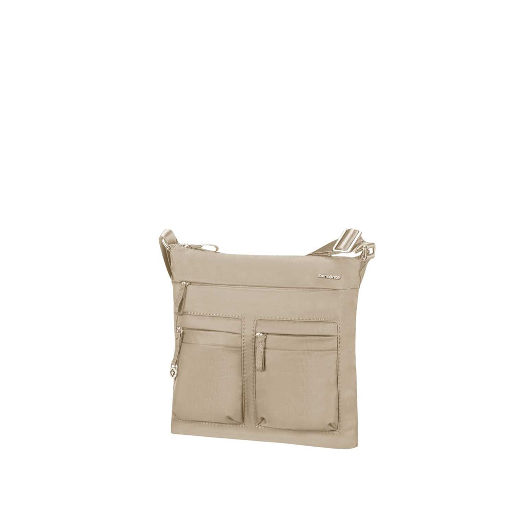 SAMSONITE - Γυναικεία τσάντα χιαστί SAMSONITE MOVE 2. μπεζ γυναικεία αξεσουάρ τσάντες σακίδια ταξιδίου