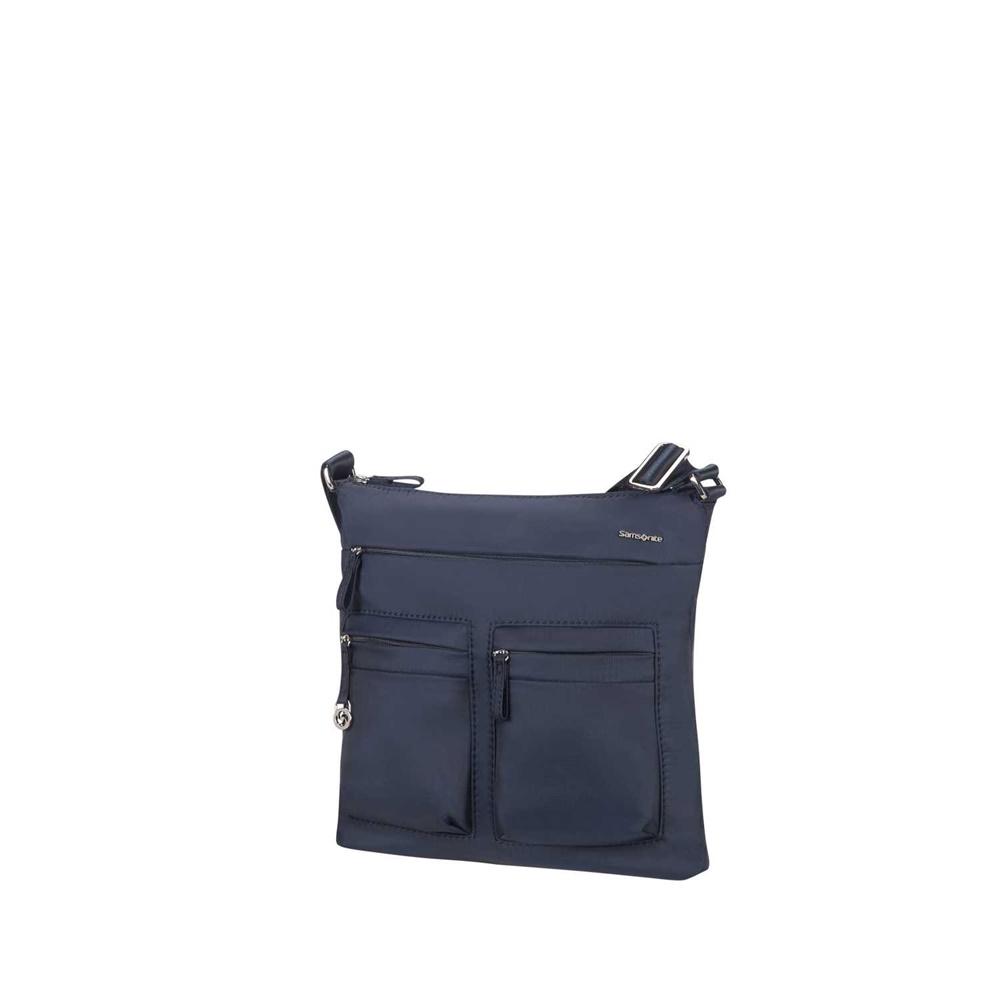 SAMSONITE - Γυναικεία τσάντα χιαστί MOVE 2.0 FLAT μπλε γυναικεία αξεσουάρ τσάντες σακίδια ταξιδίου