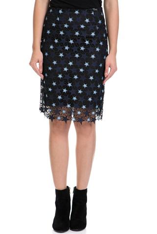 Γυναικεία φούστα LIETTA GUESS μαύρη-μπλε (1574305.0-1091)  1780c5caa47
