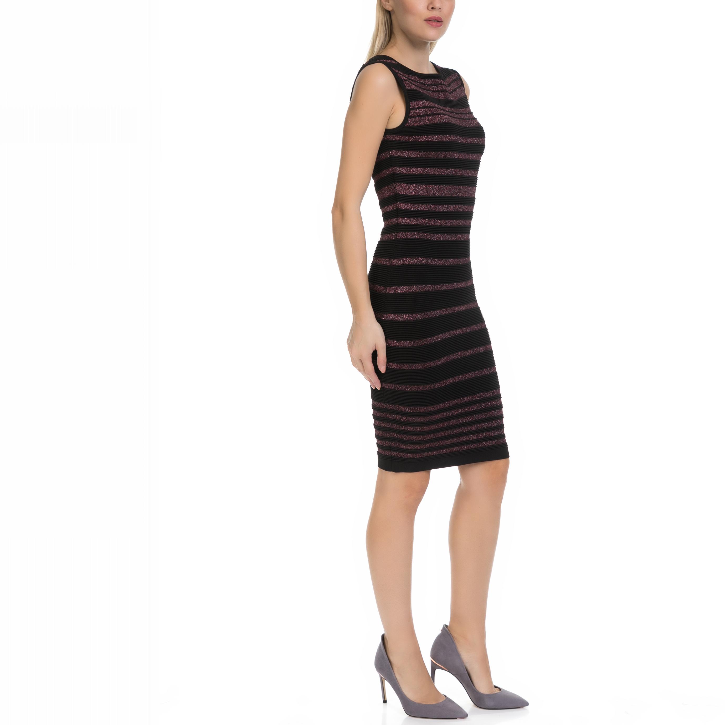 8f798448377 GUESS - Γυναικείο φόρεμα MINA GUESS μαύρο-μοβ, ΓΥΝΑΙΚΑ | ΡΟΥΧΑ | ΦΟΡΕΜΑΤΑ |  ΜΕΧΡΙ ΤΟ ΓΟΝΑΤΟ