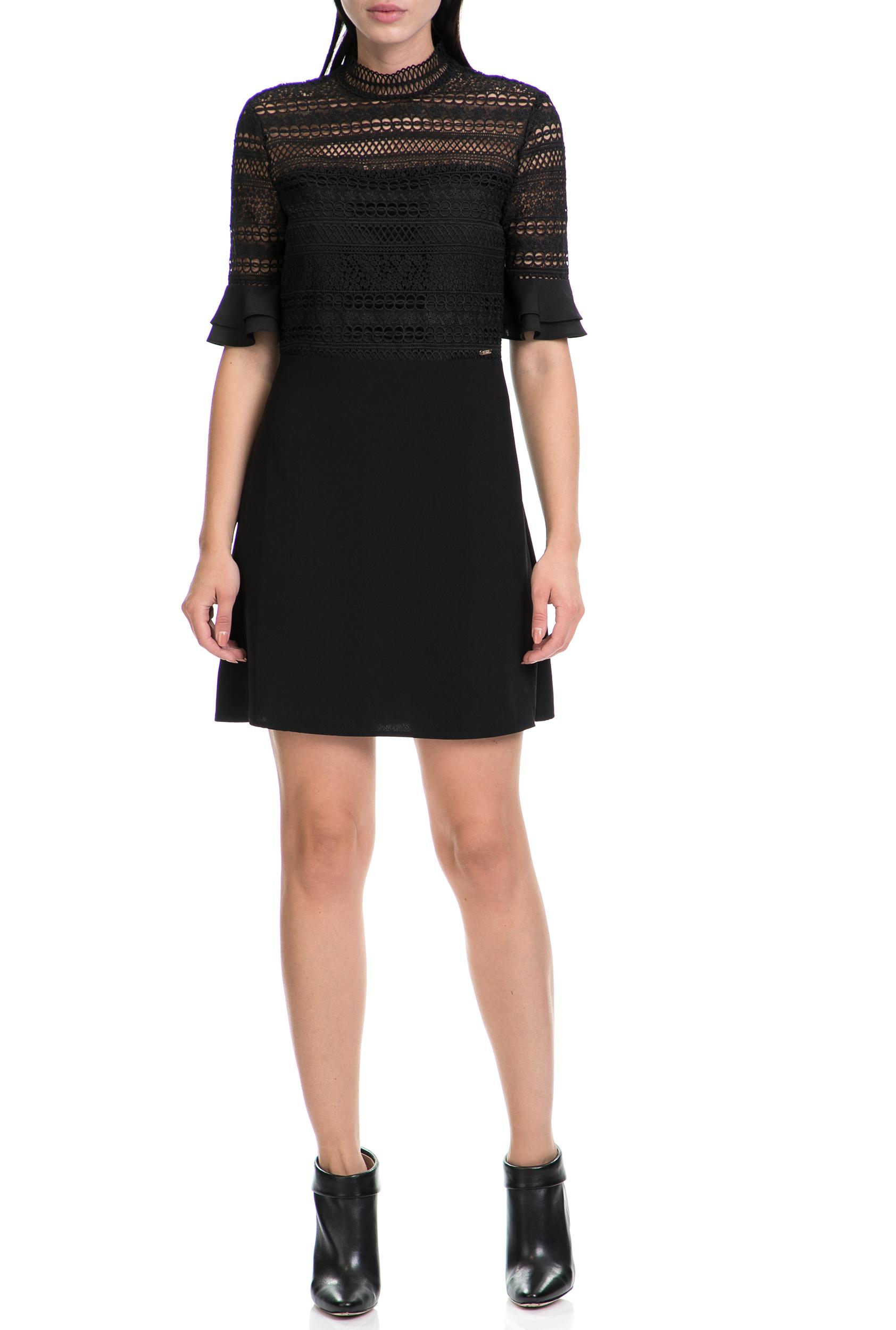 c1b7c744d75e GUESS - Γυναικείο φόρεμα EDITH GUESS μαύρο