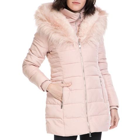 Γυναικείο μπουφάν YOKO GUESS ροζ (1574426.0-00p5)  b4e692edb5f