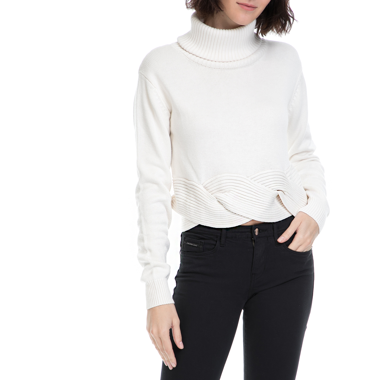 dcab6c0b0f8c GUESS Γυναικείο πουλόβερ ASIA λευκό