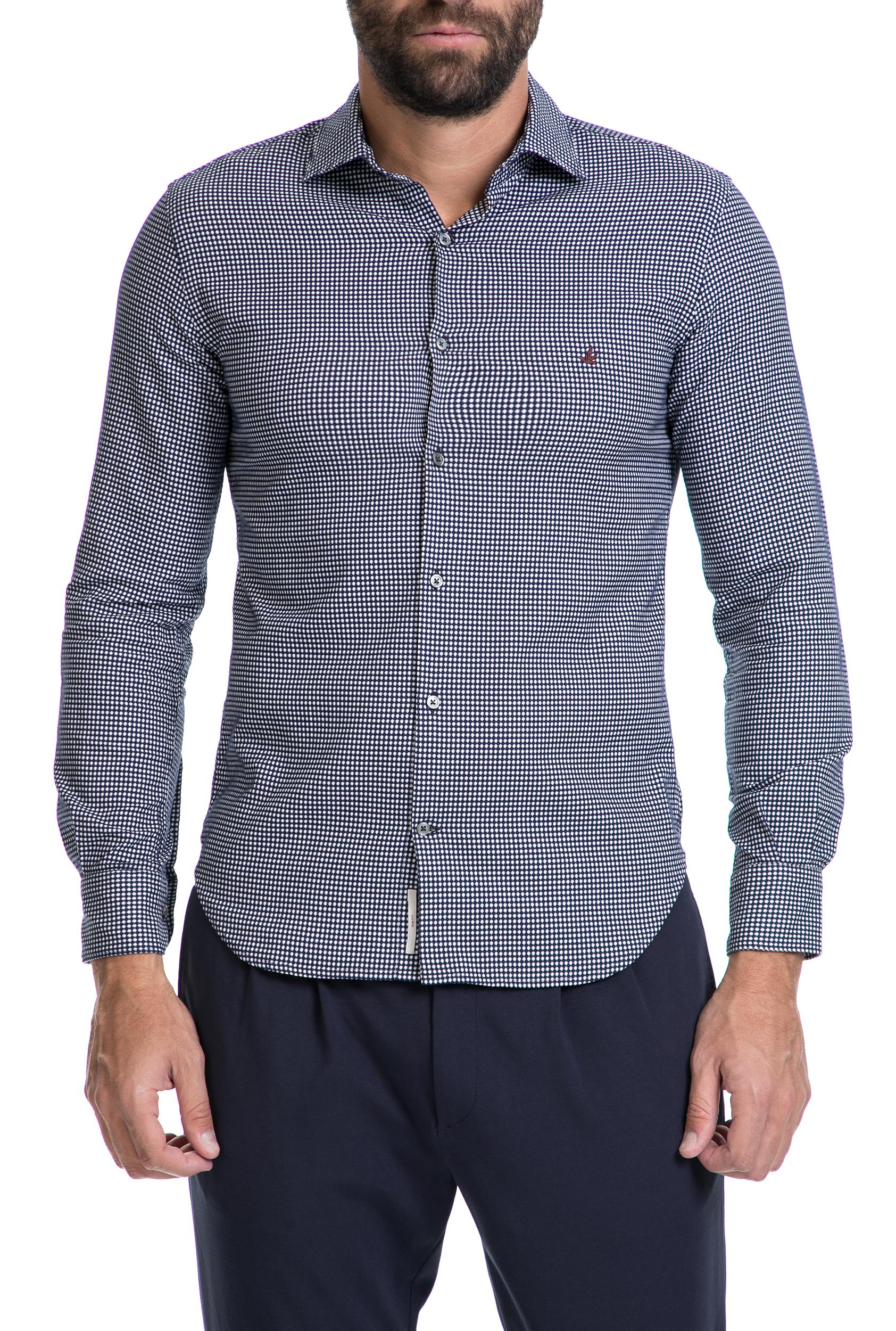f59bfee6eafc BROOKSFIELD - Ανδρικό πουκάμισο BROOKSFIELD άσπρο-μπλε 1574831.0-1191