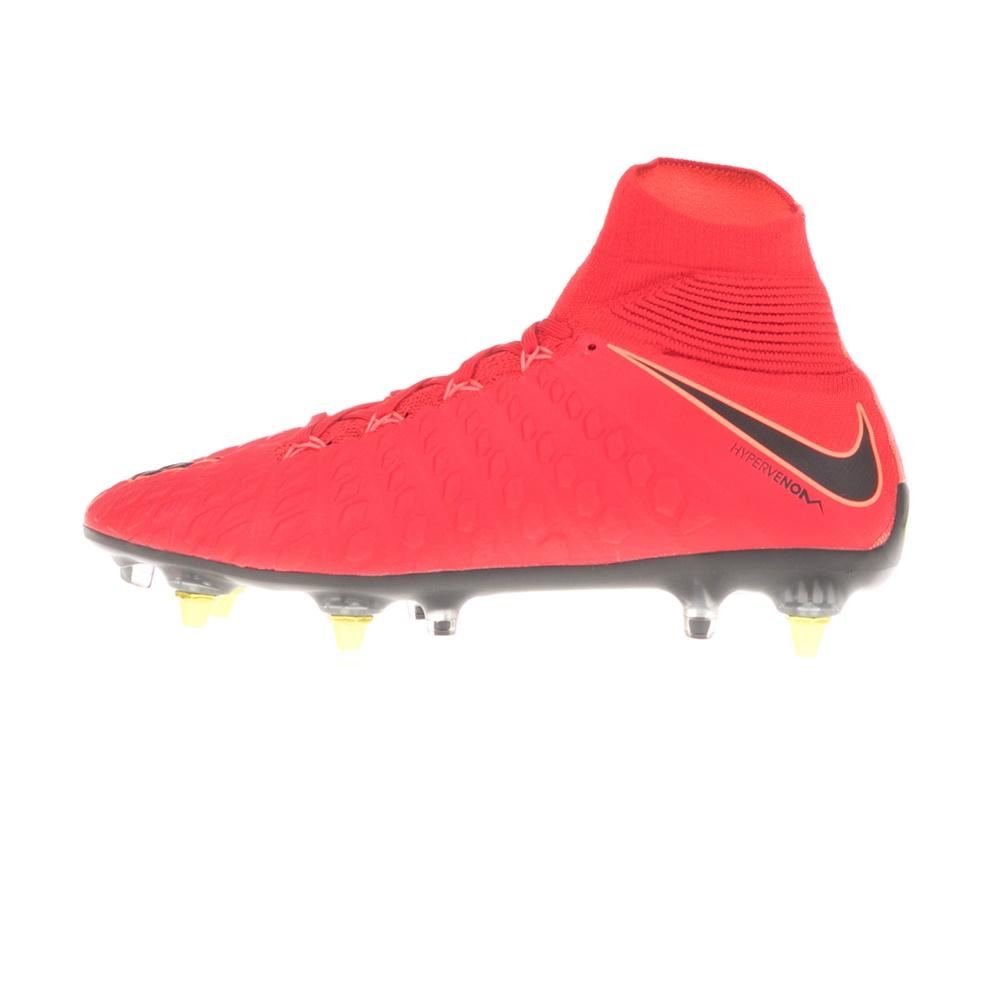 NIKE – Ανδρικά παπούτσια ποδοσφαίρου NIKE HYPERVENOM PHANTOM DYNAMIC FIT κόκκινα